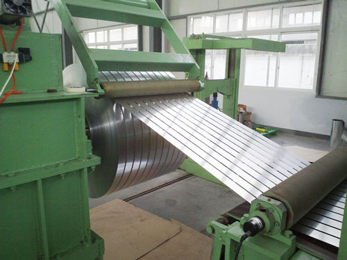 Steel Coil Cutting To Length Line