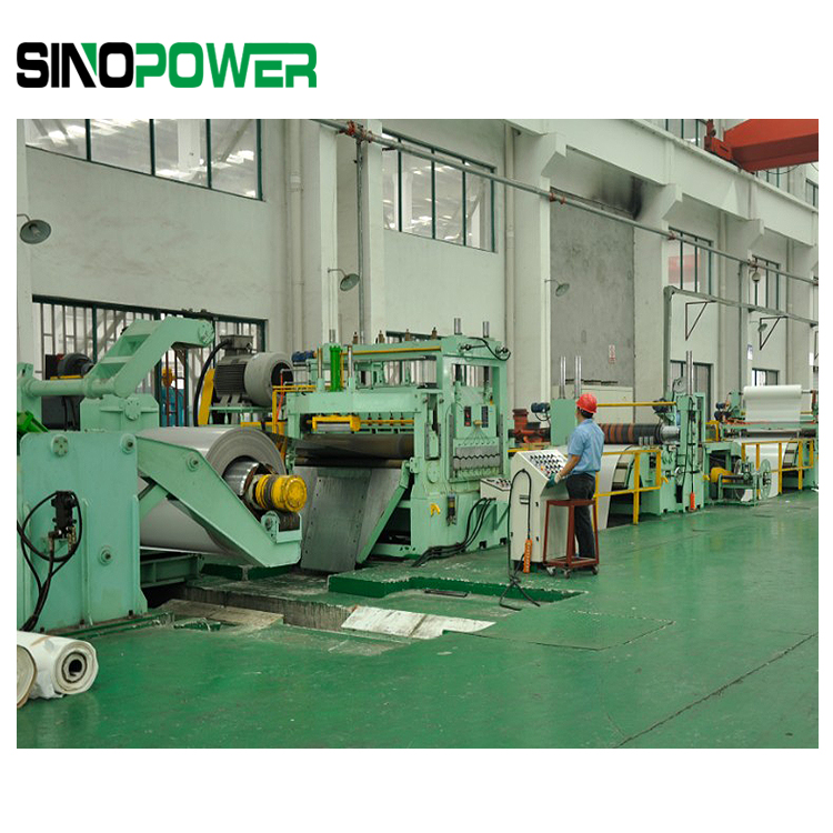 500-1600mm Steel Coil Strip Slitting Line -From China Comapny