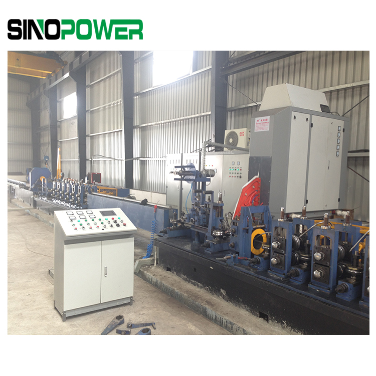 CR Steel Tube Making Line-ERW Tube Mill-From China