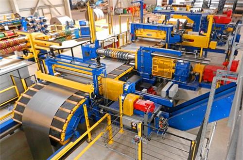 Steel Coil Strip Slitting Line Slitter Machine Sino Power