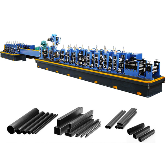 CR/HR/GI Straight Seam Welding Steel Tube Production Line-ERW  Tube Mill-From China