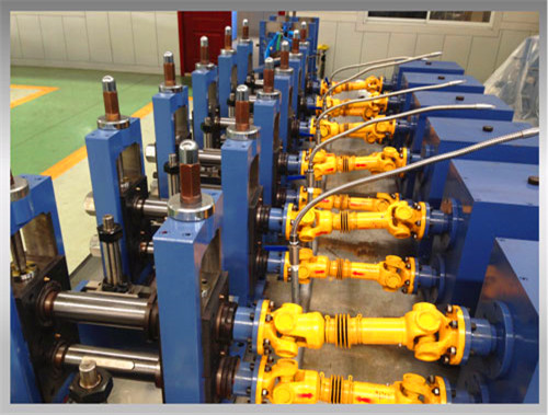 High Frequency Welded Pipe Making Line