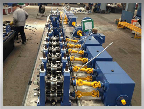 SP-219 (φ114~219mm) ERW Pipe Mill  For Making Petroleum Pipe Natural Gas Pipe