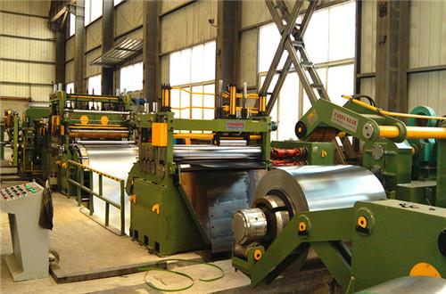 Slitting Machine Line Steel Coil Slitting Line