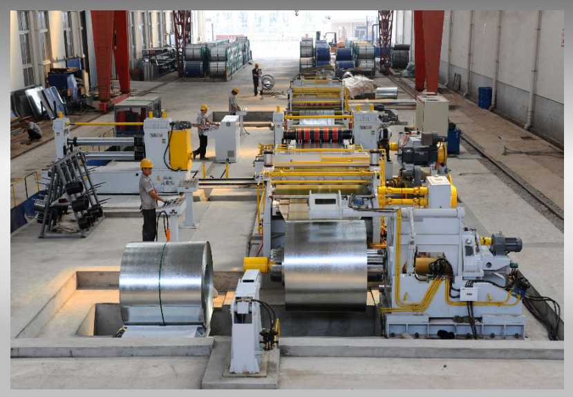 Steel Sheet Cutting To Length Line
