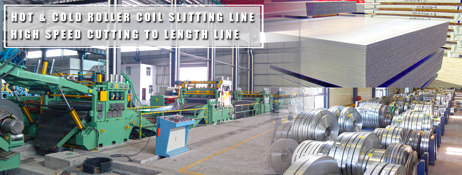 Slitting & Cutting To Length Line Exporter & Manufacturer