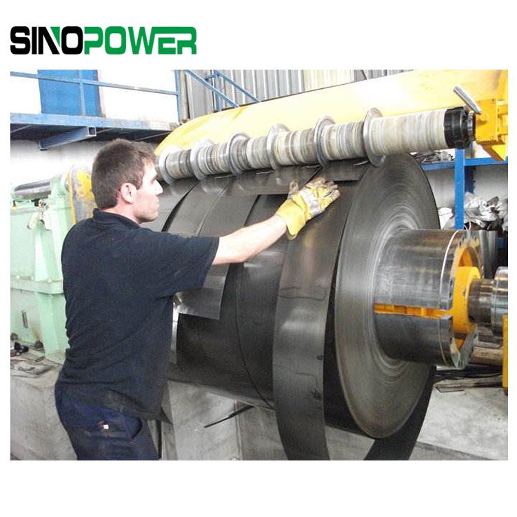 Metal saw material coil strip slitting machine for different material coil strip