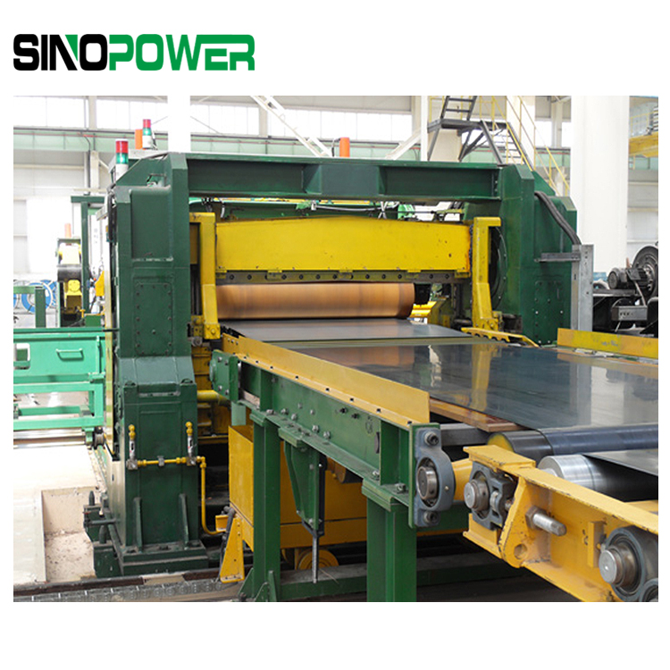 HR And CR Plate Cutting To Length Line-From Sin Power Company