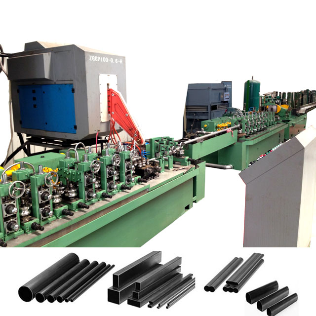 ERW Steel Pipe Making Machine For HR And CR Pipe