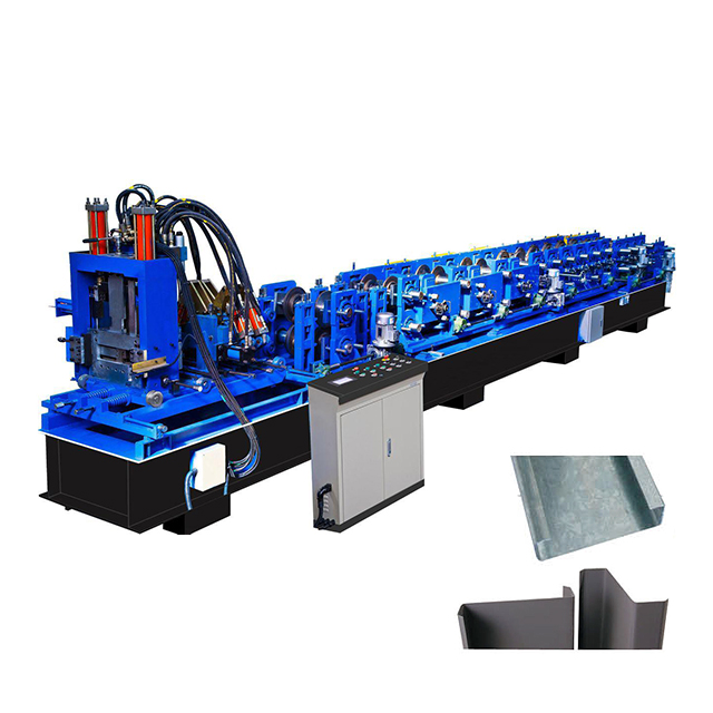 CZ Purlin/Gutter/Downspout Pipe/Storage/Shelving Rack Strut Roll Forming Machine
